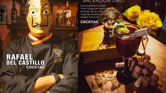 Cocktail Salvador Dali Vermut Yzaguirre